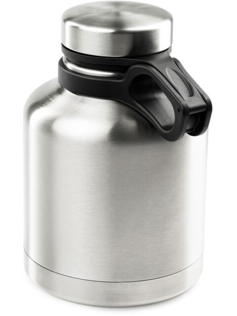GSI Glacier Stainless Drinkfles 0,94l zwart/zilver